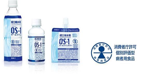 OS-1(経口補水液)とスポーツドリンクの違い