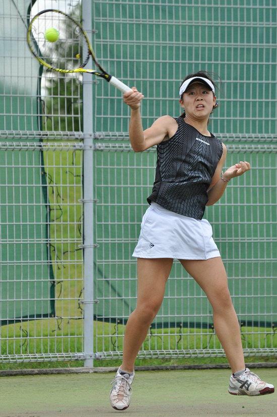 野井夕夏子選手_三重国際テニス2