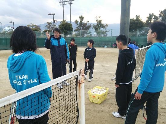 大久保ソフトテニス