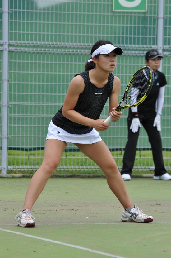 野井夕夏子選手_三重国際テニス