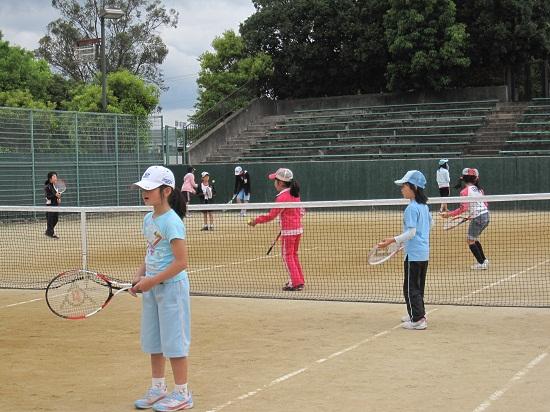 高田市テニス教室丸谷圭司0512