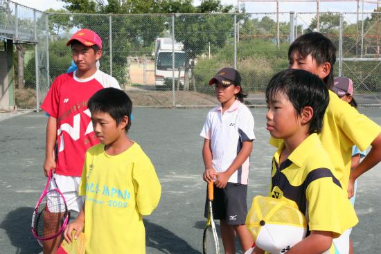 ソフトテニスイベント09174