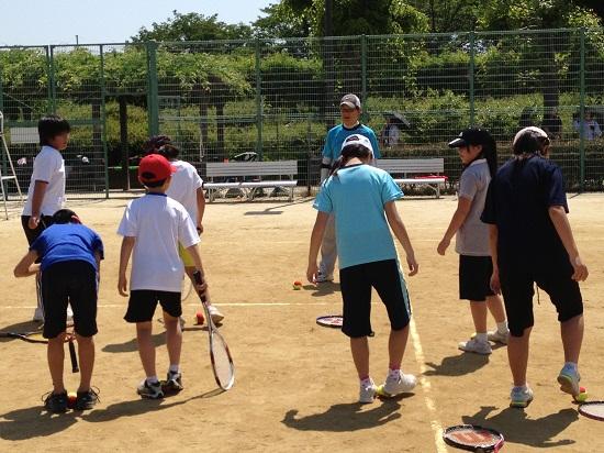 大和高田市子どもテニス教室