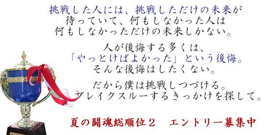 闘魂総順位_ジュニアシングルス大会2ユニーク