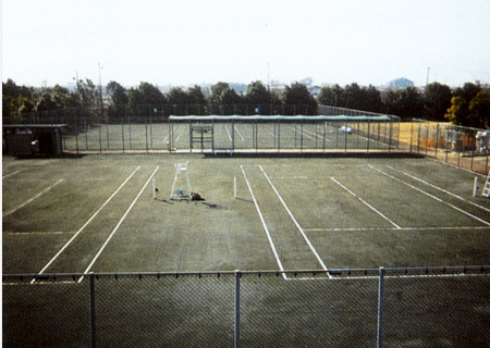 第二浄化センター_テニスコート