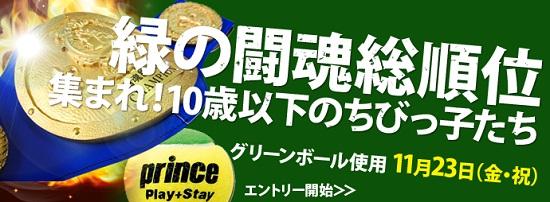 緑の闘魂総順位U10バナー